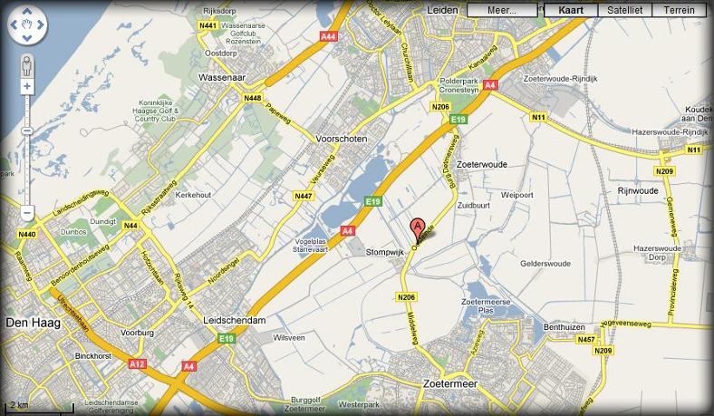 Locatie Stichting van Velsen Rally Sport