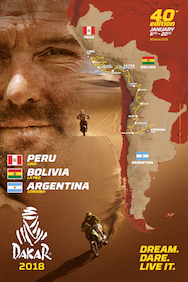 Dakar 2018 - De route